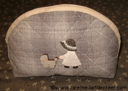 Kit patchwork pochette
